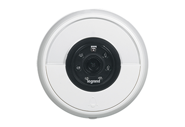 Image of the Connected Doorbell (white)