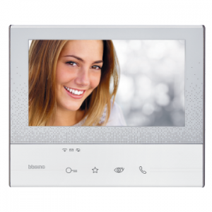 """View of 7"""" Touch Screen front"""