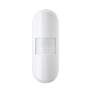 View of wireless corner mount PIR occupancy sensor