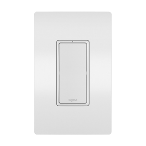 View of a Smart switch Wi-Fi in white