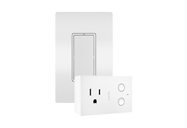 View of Smart Lighting Wi-Fi Smart switch and plug