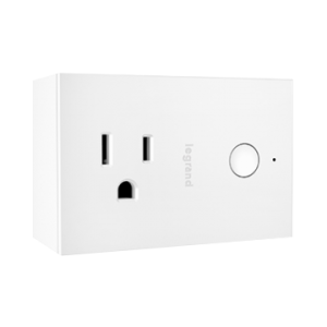 View of a Smart plug switch Wi-Fi