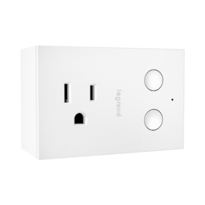View of a Smart plug dimmer Wi-Fi