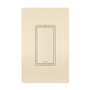 View of a Smart switch Wi-Fi in light almond